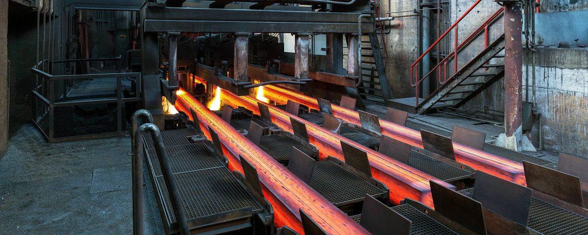 Industriefoto Schiene