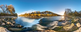 Fluss Traun