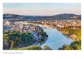 Linz an der Donau - Aussicht von der Franz-Josefs-Warte