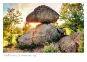 """Oberösterreich - Wackelstein """"Schwammerling in Rechberg"""