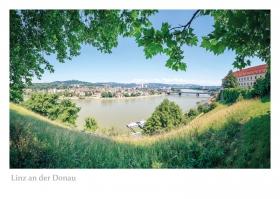 Linz an der Donau - Aussicht vom Schlossberg