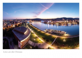Linz an der Donau - Aussicht vom ARCOTEL Nike