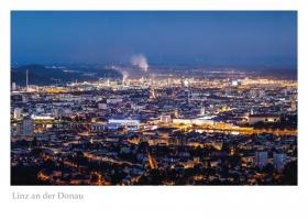 Linz an der Donau - Aussicht vom Pöstlingberg