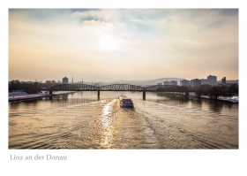 Linz an der Donau - Eisenbahnbrücke