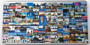 Postcards Blechdose